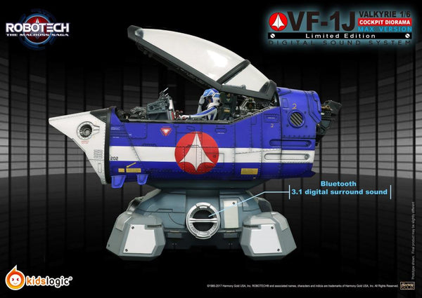 ST04 1:6 Robotech VF1J (Max Version) Diorama Digital Sound System