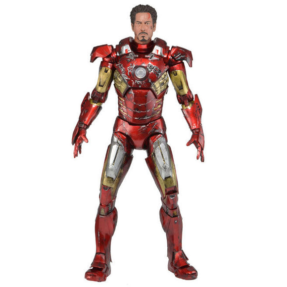 The Avengers, 1/4 Scale Battle Damaged Iron Man Mark VII