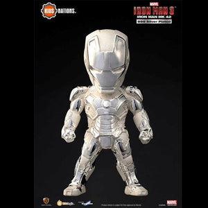 999 Silver Plated Iron Man Mark 42