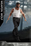 FIGUREborn 9 Inch Weapon Wolf Action Figure