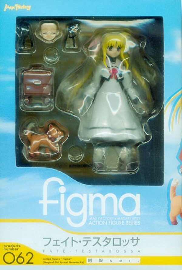 Figma 062 Fate Testarossa, Magical Girl Lyrical Nanoha A's, uniform version
