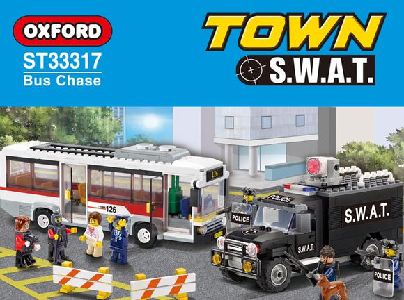 Oxford ST33317, S.W.A.T. Bus Chase