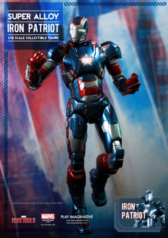 Iron Patriot, Super Alloy 1/12th Scale Collectible Figure