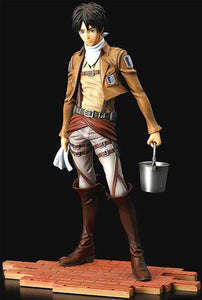 Eren Jaeger Cleaning Ver., BRAVE-ACT Attack on Titan 1/8th Scale Figure