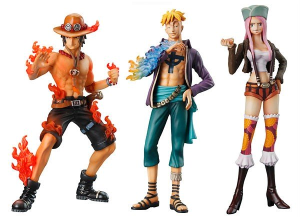 One Piece Super Styling, Valiant Material Vol. 3, Set of 3