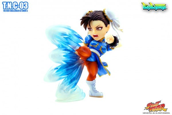 Chun-Li, The New Challenger 03, Street Fighter