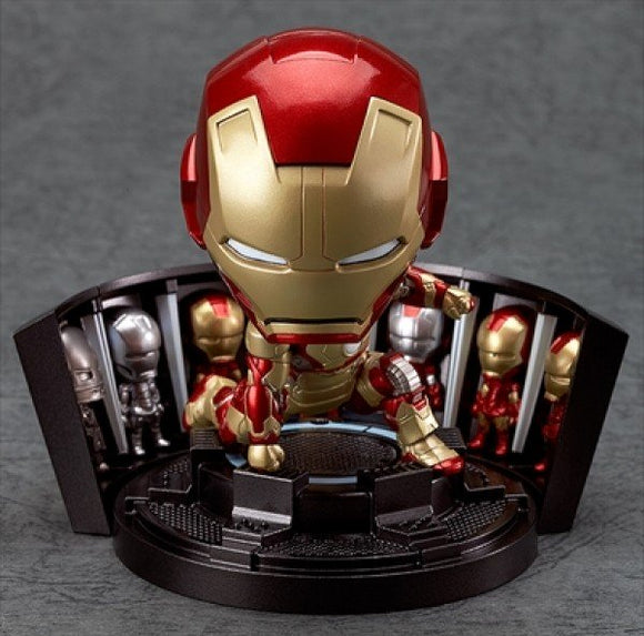Nendoroid 349 Iron Man Mark 42, Heroes Edition Hall of Armor Set