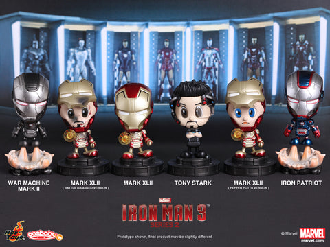 Iron Man 3 Cosbaby Series 2, Set of 6