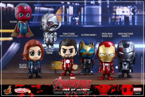 Avengers: Age of Ultron: Cosbaby Series 2, Set of 7