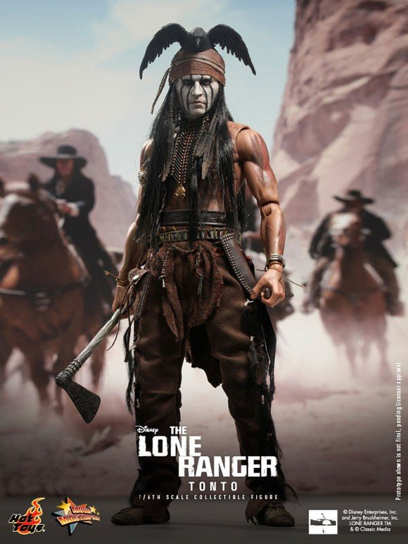 Tonto, The Lone Ranger, 1/6th scale Collectible Figure, Hot Toys MMS 217