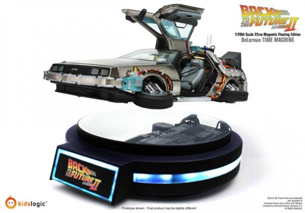 1/20 Magnetic Floating DeLorean Time Machine, Back To The Future Part II
