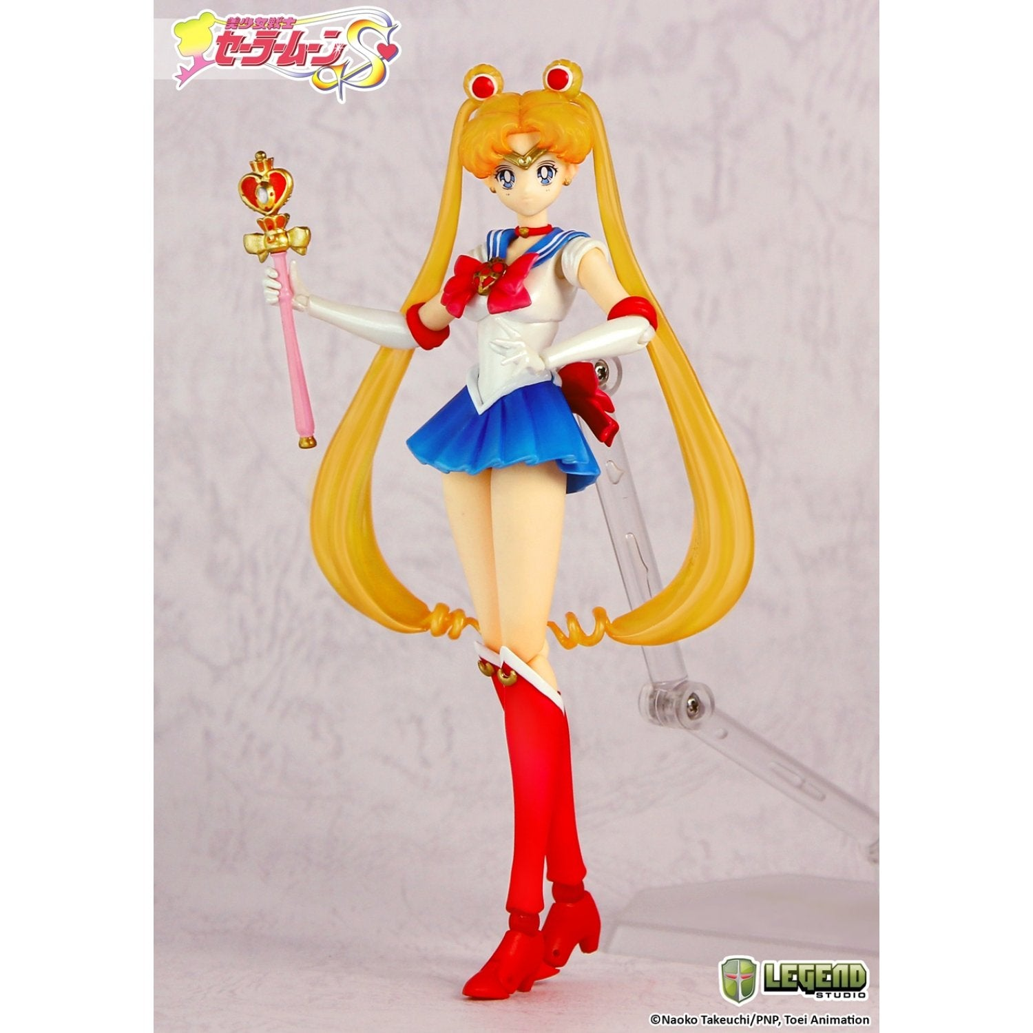 Sailor Moon S Action Series ArtStatue 001 Sailor Moon
