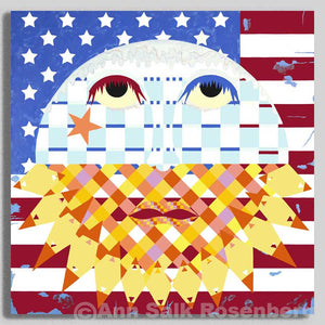 American Sunrise - Museum Quality Print On Canvas