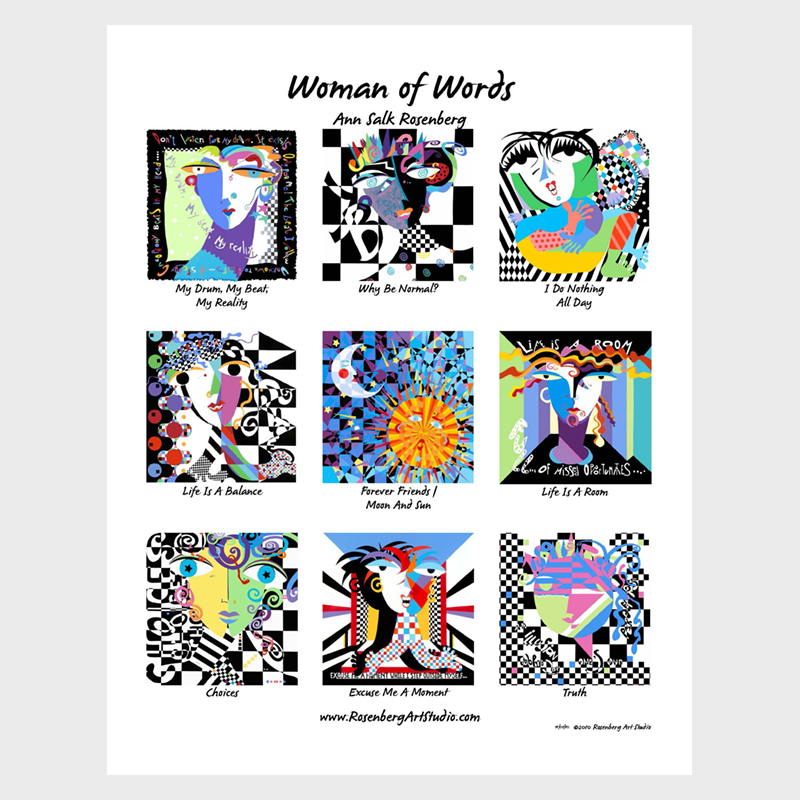 Women of Words Poster