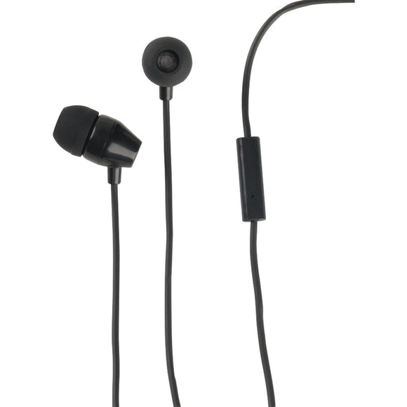 RCA(R) HP159MICBKZ Stereo Earbuds with In-Line Microphone