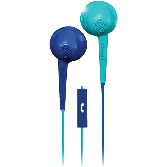 Maxell(R) 199629 Jelleez Twist Earbuds with Microphone