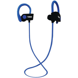 Naxa(R) NE-961 BLUE PERFORMANCE Bluetooth(R) Wireless Sport Earbuds with Ear Hook (Blue)