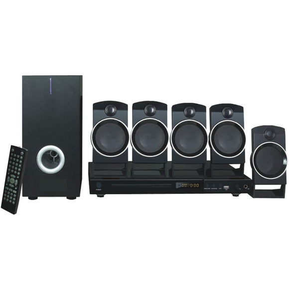 Naxa(R) ND-859 5.1-Channel DVD & Karaoke Entertainment System