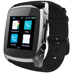 Supersonic(R) SC-64SW Bluetooth(R) Smart Watch with Call Feature