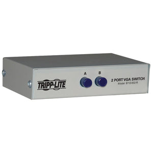 Tripp Lite(R) B112-002-R 2-Port HD15 VGA/SVGA Push-Button Switch