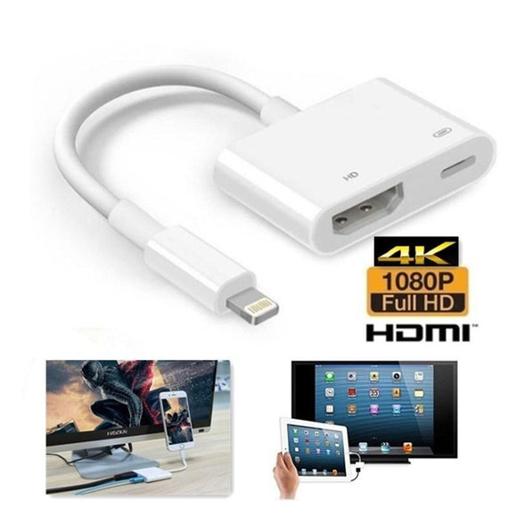 Lightning To HDMI Digital AV TV Cable Adapter Usb HDMI Adapter For iPad iPhone