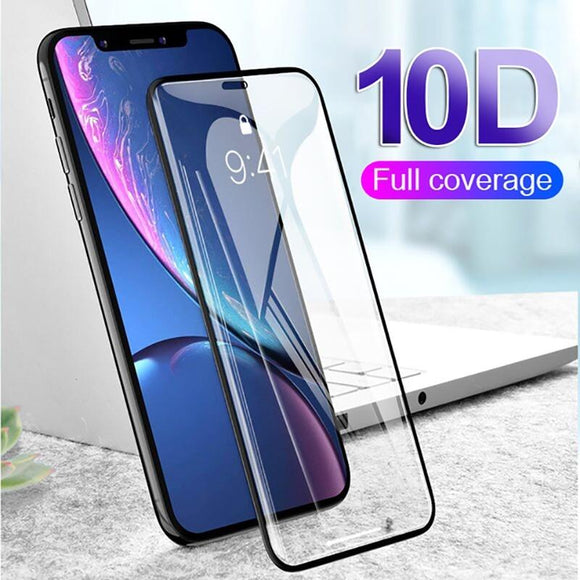 10D 9H Hardness Screen Protector Anti-fingerprint Shockproof and Clear Suitable for Iphone Xs Xs Max Xr X 7 7 Plus 8 8 Plus Sams