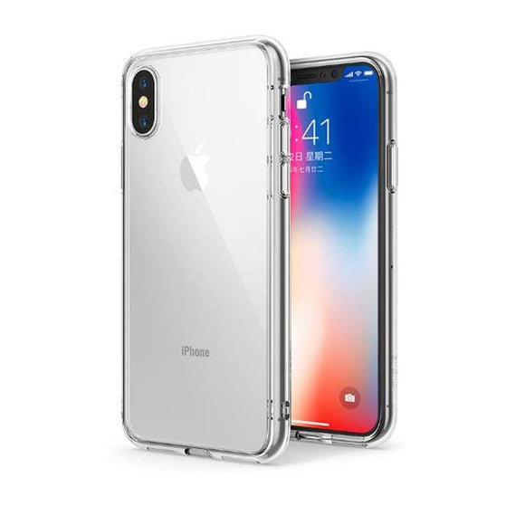iPhone X Case, Crystal Clear Shock Absorption Anti-Scratches Reinforced Camera Protection Soft PC Shell Cover For iPhoneX
