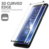 Explosion-proof Tempered Glass Case Friendly 3D 9H Curved Edge Screen Protector for Samsung Galaxy Note 9 Note 8 S9 Plus S9 S8 P