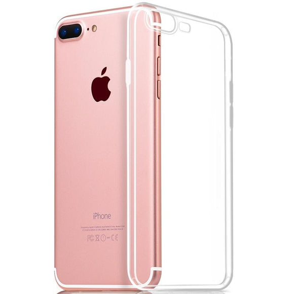 Ultra Thin Transparent Clear TPU Silicone Gel Soft Case Skin Cover For iPhone7/7plus iphone 6/6s/6plus/6plus/5/5s/se 8/8plus