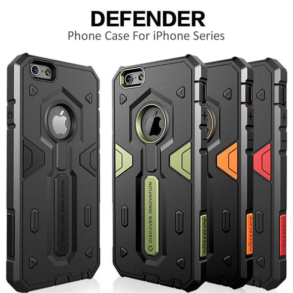 Drop Protection Anti-Scratch Armor Hybrid Shockproof Heavy Duty Slim Fit Dust Plug For Apple iPhone 7, iPhone 7 Plus; Samsung Ga