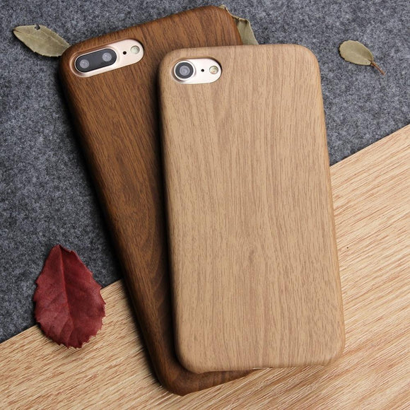 Ultra Thin Slim Soft Bamboo Wooden Leather Case Cover For iPhone 5 5S SE 6 6S 7 8 Plus X For Samsung Galaxy S6 S7 Edge S8 Plus A