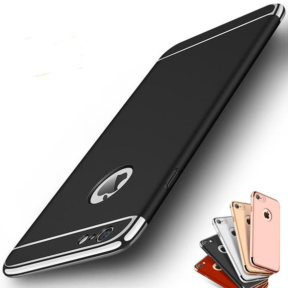 Luxury Hybrid Electroplate Ultra Slim Hard Case Cover For iPhone X / 7 / 7 Plus / 6 / 6 Plus / 6s / 6s Plus / Samsung Galaxy Not