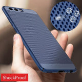Shockproof Ultra Slim Matte Hard Back Case Cover for Huawei Mate10 P8 P9 P10 P10plus P10lite P9plus Mate8 Mate9pro Honor9 Honor8