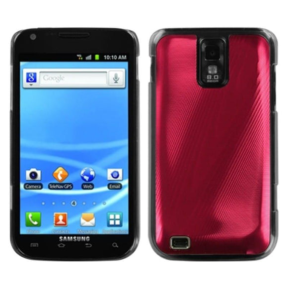 INSTEN Red Cosmo Case Cover for Samsung T989 Galaxy S II