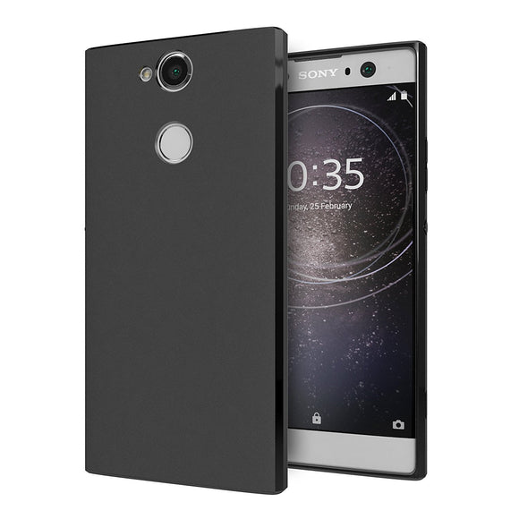 Cimo Slim Matte Sony Xperia XA2 Ultra Case with Premium TPU Protection for Sony Xperia XA2 Ultra (2018) - Black