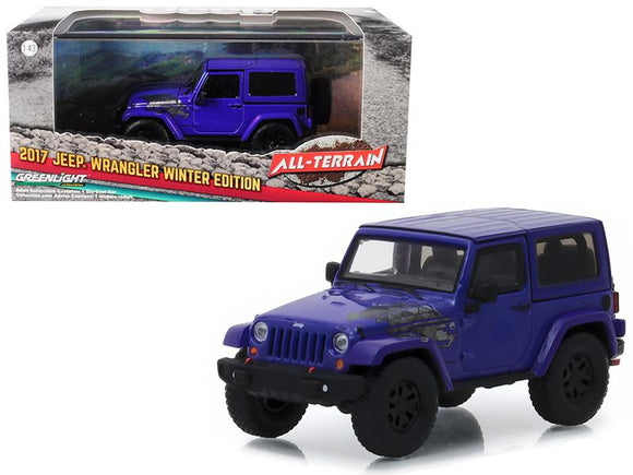 2017 Jeep Wrangler Winter Edition Xtreme Purple