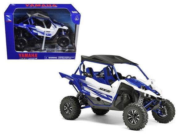 Yamaha YXZ 1000R Triple Cylinder Blue Buggy 1-18 Diecast Model by New Ray