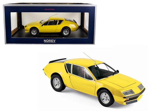 1977 Renault Alpine A310 Yellow 1-18 Diecast Model Car by Norev