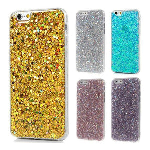 New Bling Silicone Glitter ShockProof Case Cover For Apple iPhone 6 6s 6 Plus 7