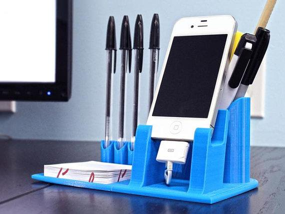 Desktop Organizer | Pen Holder | Phone Dock
