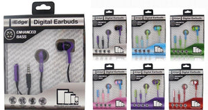 Earphone with Matching Cable And Mic Case Pack 48