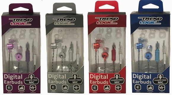 Trend Logic Earbuds Case Pack 48