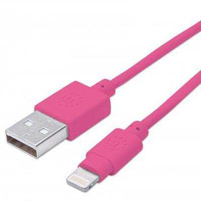 MH Lightning Cable 3' Pink