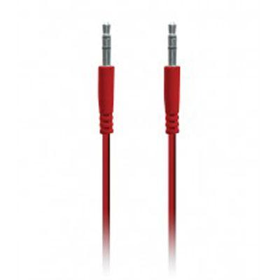 Aux 1 Meter Audio Cable Red