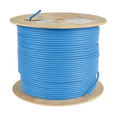 1000' CAT6 Bulk Cbl Blue FD