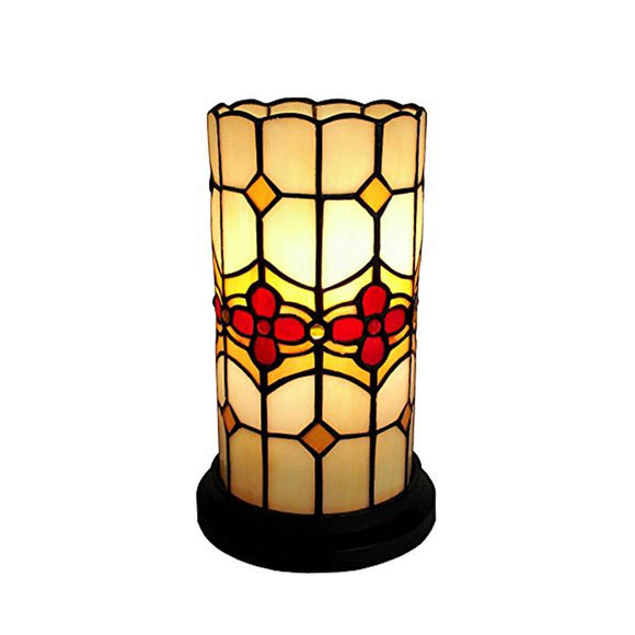 Amora Lighting AM088ACC Tiffany Style Floral Mini Table Lamp 10
