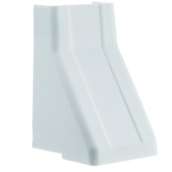 Cable Raceway, White, 1.25 inch, Ceiling Entry