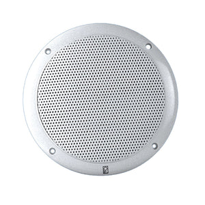 "PolyPlanar PolyPlanar 4"" 2-Way Coax Integral Grill Marine Speaker - (Pair) White"