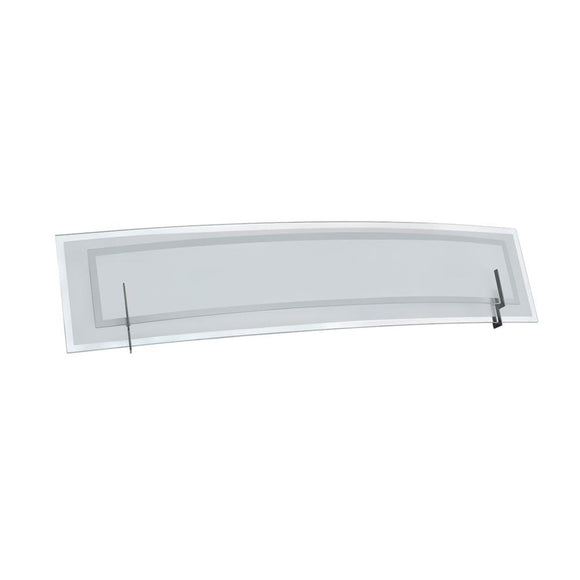 Dainolite V034-3W-SC 3 Light Bathroom Vanity Fixture with Satin Chrome Finish