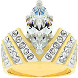 Venetian Crown Ring Size 7